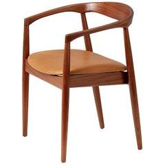 Kai Kristiansen Leather Troja Armchair, c1960