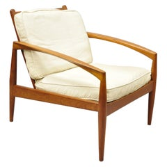 Kai Kristiansen Magnus Olesen Paper Knife Teak Danish Modern Lounge Chair
