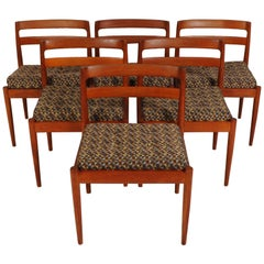 Kai Kristiansen Model 301 Teak Chairs for Magnus Olesen