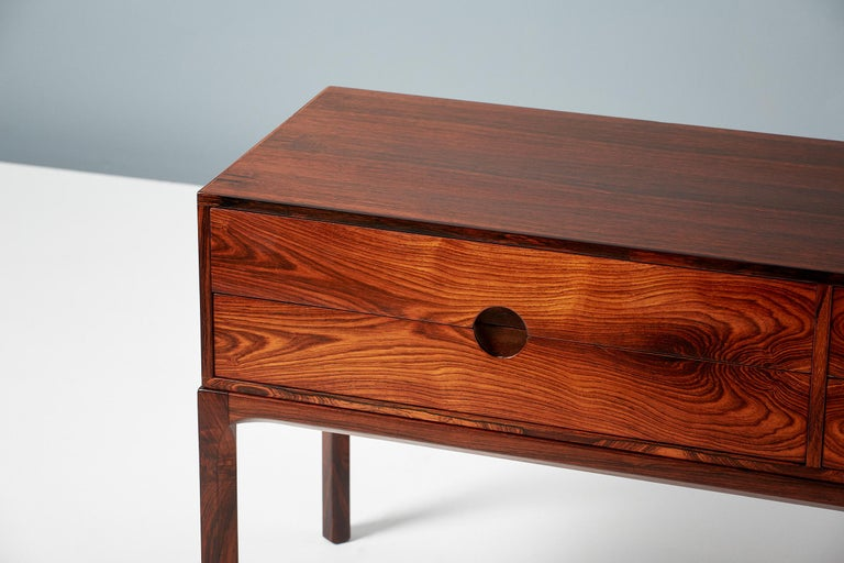 Mid-20th Century Kai Kristiansen Model 384 Rosewood Chest, 1960s For Sale