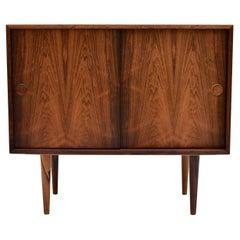 Kai Kristiansen Model 41 Brazilian Rosewood Cabinet for Feldballes Møbelfabrik