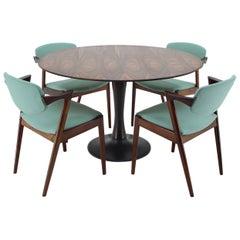 Kai Kristiansen Model 42 Rosewood Dining Room Set