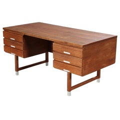 Kai Kristiansen Model Ep 401 Walnut Executive Desk