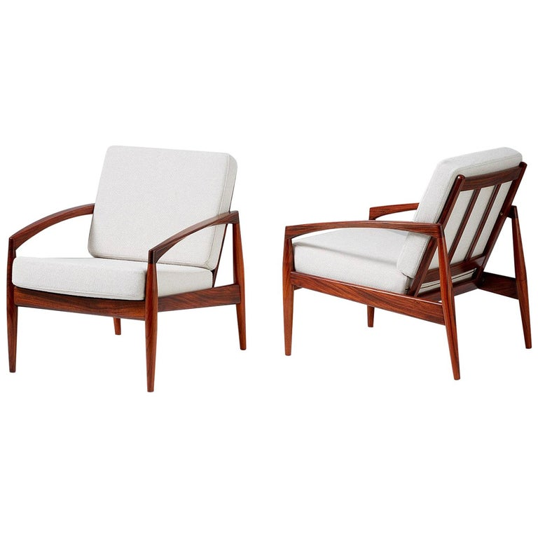 Kai Kristiansen Paper Knife Lounge Chairs For Sale