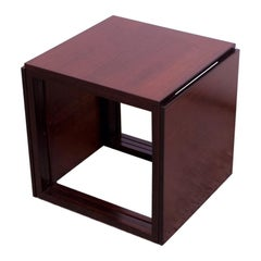 "Kai Kristiansen Rosewood ""Cube"" of Three Interlocking Nesting Tables"