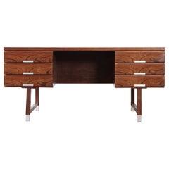 Kai Kristiansen Rosewood Desk, 1960s, Denmark