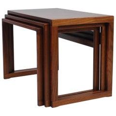 Kai Kristiansen Rosewood Nesting Tables