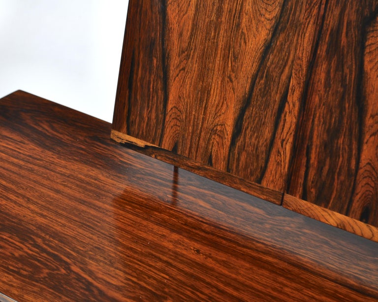 Kai Kristiansen Rosewood Vanity Table with Mirrors by Aksel Kjersgaard, 1960s For Sale 3