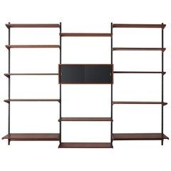 Kai Kristiansen Scandinavian Teak Shelves System for FM Møbler, 1960s