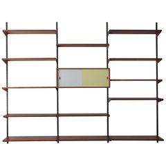 Kai Kristiansen Scandinavian Teak Shelves System for FM Mobler, 1960s