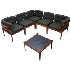 Danish Design Kai Kristiansen Seating Group Model Universe, 1960s