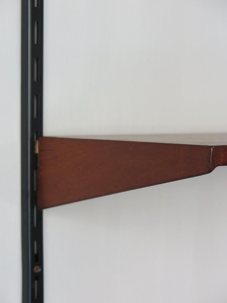 Kai Kristiansen Teak Scandinavian Shelves System for FM Møbler, 1960s For Sale 3
