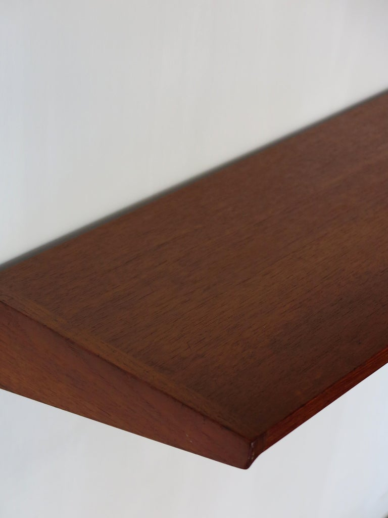 Kai Kristiansen Teak Scandinavian Shelves System for FM Møbler, 1960s For Sale 5