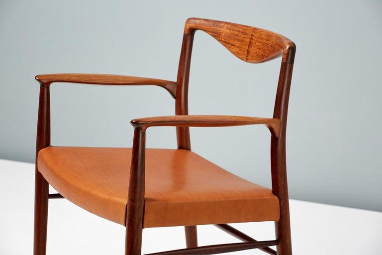 Scandinavian Modern Kai Lyngfeldt-Larsen 1960s Rosewood Armchair For Sale