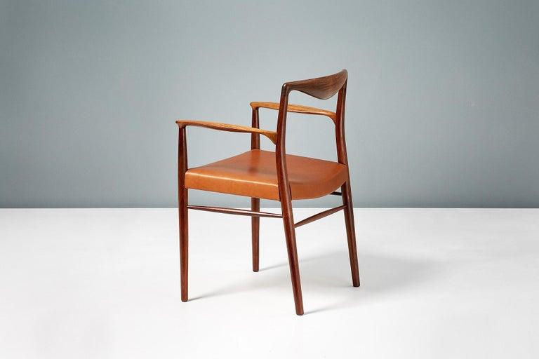 Danish Kai Lyngfeldt-Larsen 1960s Rosewood Armchair For Sale