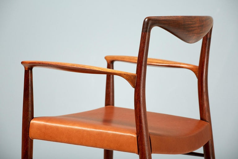Kai Lyngfeldt-Larsen 1960s Rosewood Armchair In Excellent Condition For Sale In London, GB