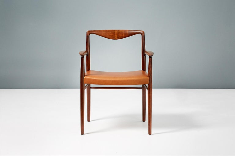 20th Century Kai Lyngfeldt-Larsen 1960s Rosewood Armchair For Sale