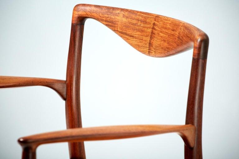 Kai Lyngfeldt-Larsen 1960s Rosewood Armchair For Sale 1