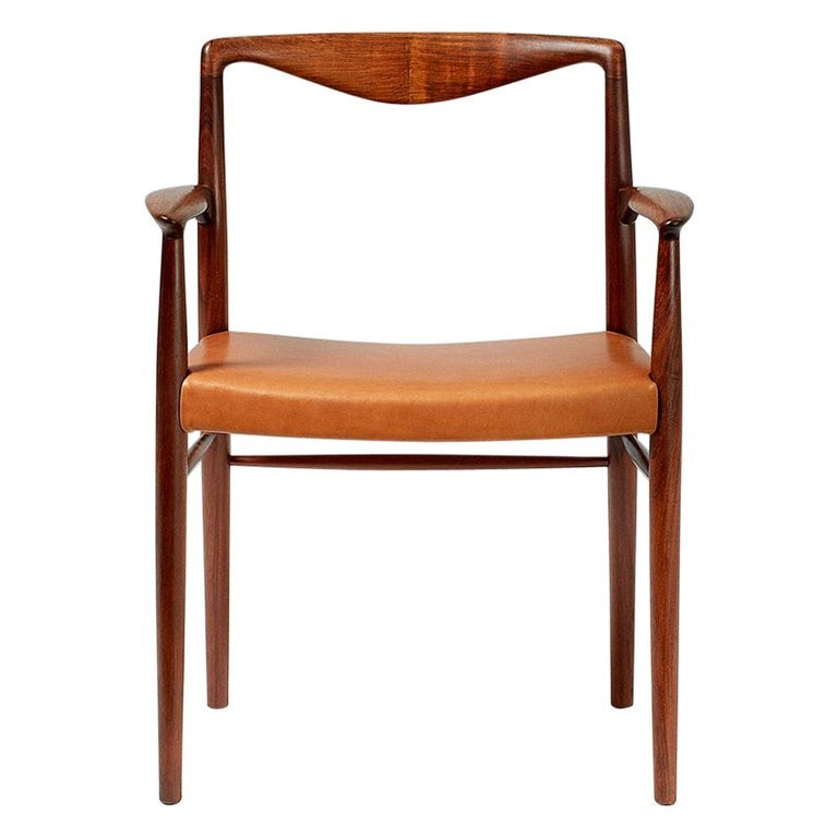 Kai Lyngfeldt-Larsen 1960s Rosewood Armchair For Sale