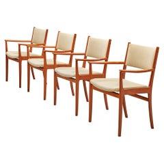 Kai Lyngfeldt Larsen Dining Chairs in Teak