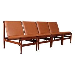 Kai Lyngfeldt Larsen Lounge Chairs, Teak