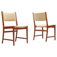 Kai Lyngfeldt Larsen Pair of Dining Chairs in Teak