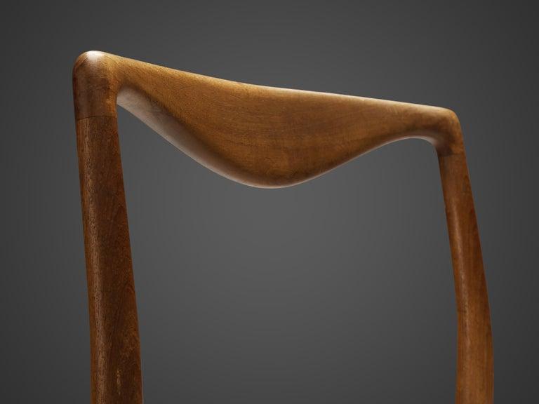 Kai Lyngfeldt Larsen Set of Six Dining Chairs in Teak For Sale 3
