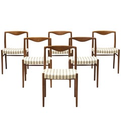 Kai Lyngfeldt Larsen Set of Six Dining Chairs in Teak