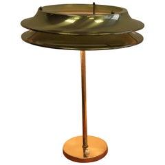 Kai Ruokonen Brass Table Lamp, 1970s