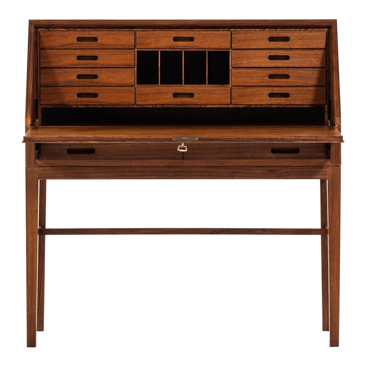 Kai Winding Bureau / Secretaire Produced by Cabinetmaker P. Jeppesen in Denmark