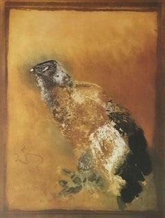 Eagle, Original Lithograph, Kaiko Moti