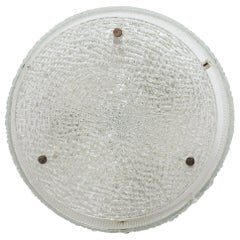 Kaiser Circular Flush Mount, Wall-Light, 1970s, Germany