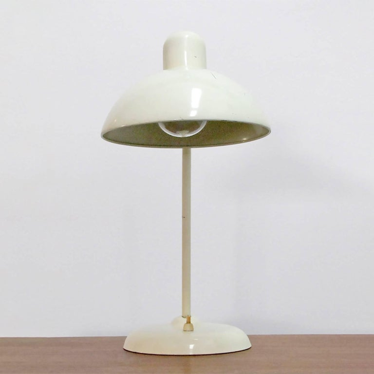 Bauhaus Kaiser Desk Lamps by Christian Dell For Sale