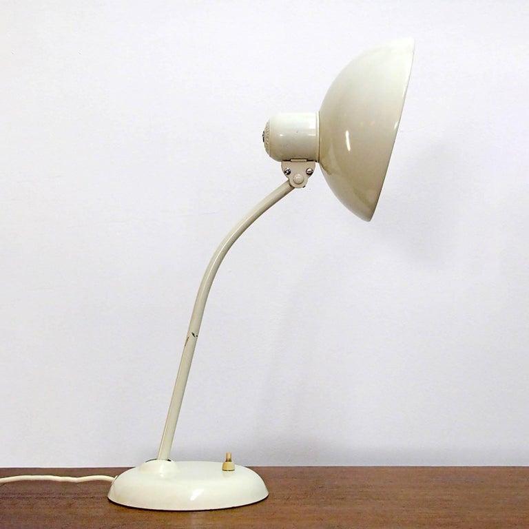 German Kaiser Desk Lamps by Christian Dell For Sale