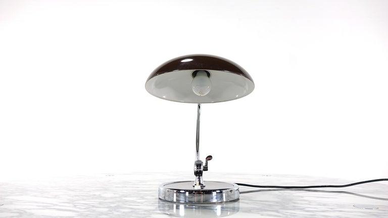 Kaiser Idell by Christian Dell Model 6631 President Desk Lamp Bauhaus 15
