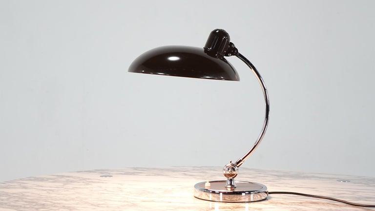 Kaiser Idell by Christian Dell Model 6631 President Desk Lamp Bauhaus 6