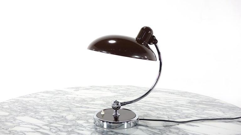 Kaiser Idell by Christian Dell Model 6631 President Desk Lamp Bauhaus 8