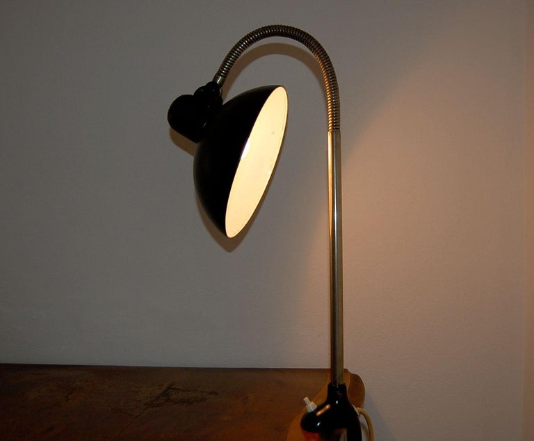 German Kaiser iDell Model 6740 Table Lamp by Christian Dell For Sale