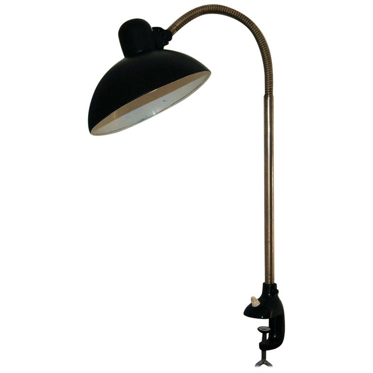 Kaiser iDell Model 6740 Table Lamp by Christian Dell For Sale