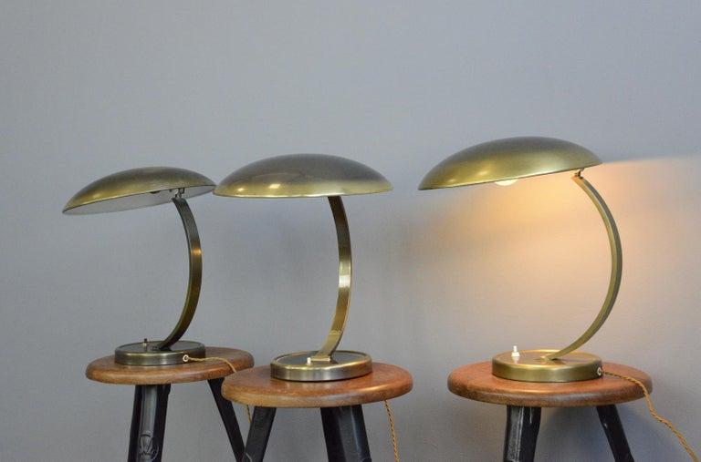 Bauhaus Kaiser Idell Model 6751 Table Lamps, circa 1950s For Sale