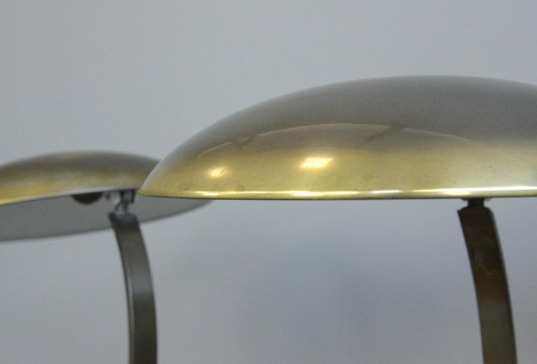 German Kaiser Idell Model 6751 Table Lamps, circa 1950s For Sale