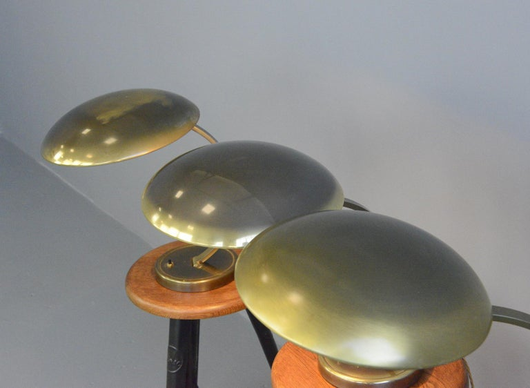 Kaiser Idell Model 6751 Table Lamps, circa 1950s For Sale 1