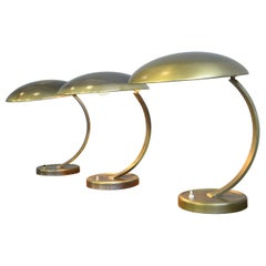 Kaiser Idell Model 6751 Table Lamps, circa 1950s