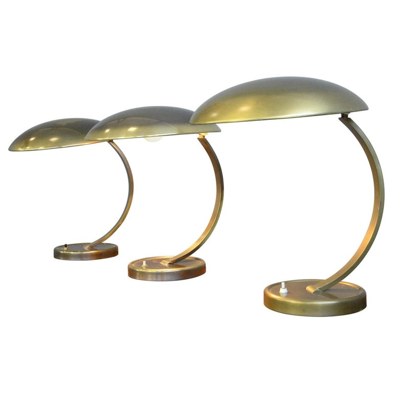 Kaiser Idell Model 6751 Table Lamps, circa 1950s For Sale