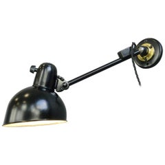 Kaiser Jdell Model 6723 Wall Lamp by Christian Dell, circa 1930s