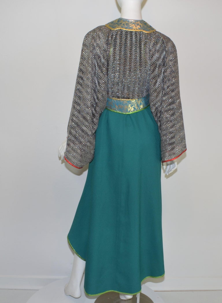 Kaisik Wong, Obiko Art to Wear Ensemble with Jacket & Dress For Sale 1