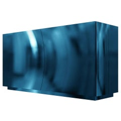 Kaizen Storage Sideboard Cabinet with Metal by Artefatto Design Studio