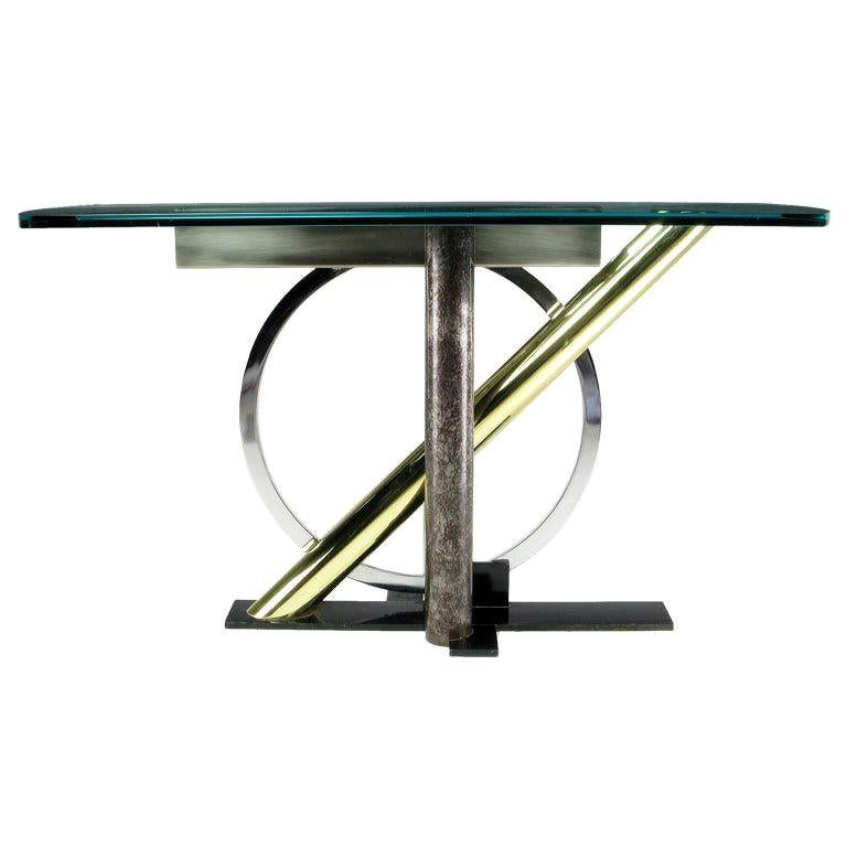Kaizo Oto for Design Institute America Console Table For Sale