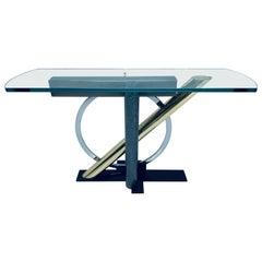 Kaizo Oto for DIA Postmodern Memphis Style Console Table