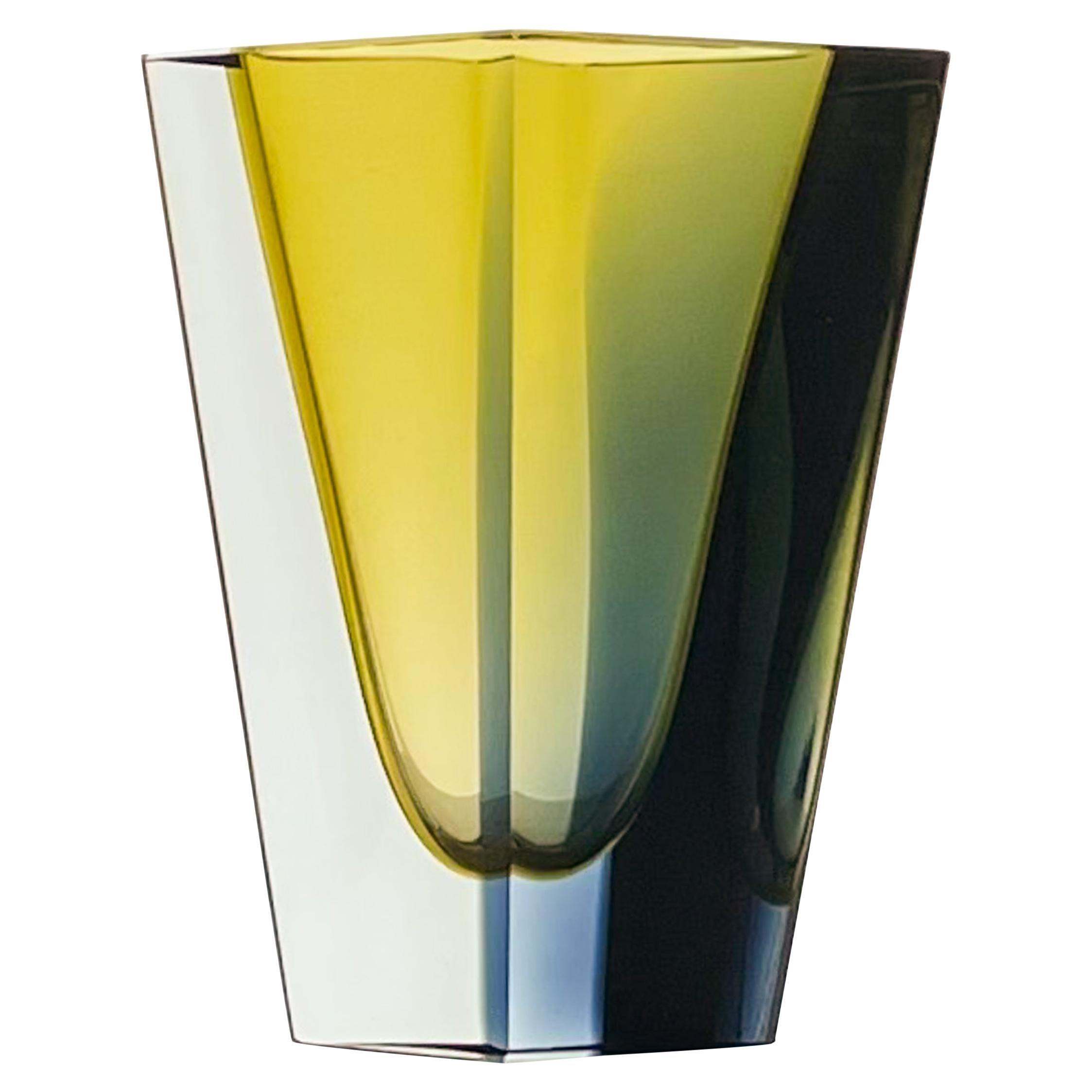 "Kaj Franck, Glass Art-Object ""Prisma"", Model KF 215, Nuutajärvi-Notsjö, 1963"